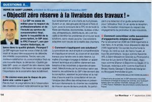 12 Le Moniteur 09 2006